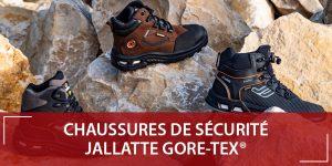 Chaussure sécurité Gore Tex Jallatte