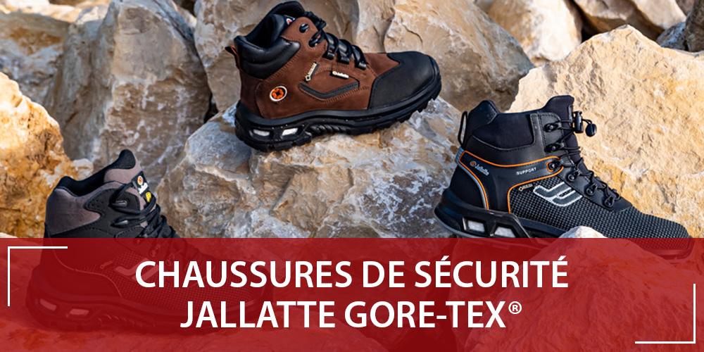 Chaussure sécurité Gore Tex : les nouveautés JALLATTE