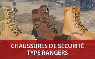 Chaussures de sécurité rangers : idéales pour le BTP et l'industrie