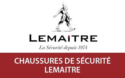 Découvrez les chaussures de sécurité Lemaitre sur Vetdepro.com