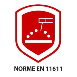 Norme de protection EN 11611