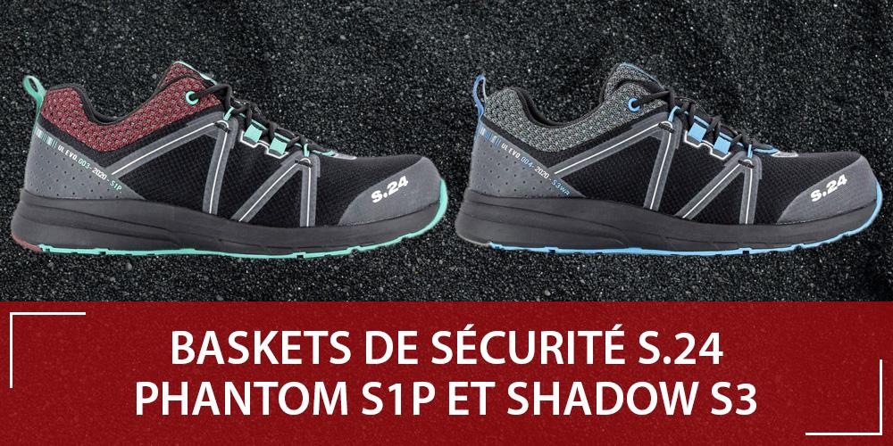 Découvrez les nouvelles baskets de sécurité S24