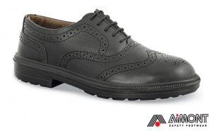 Chaussure de sécurité ville noire CONCORDE AIMONT