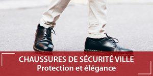 Chaussures de sécurité ville