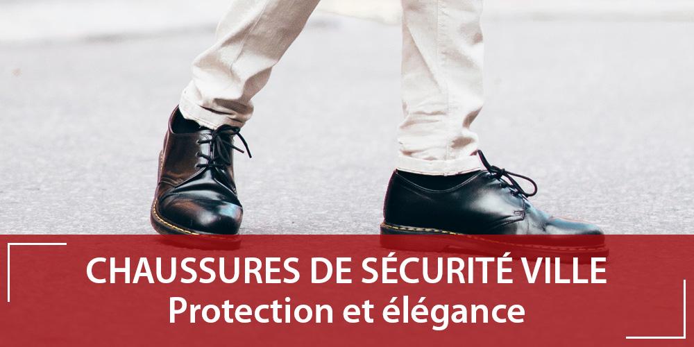 Chaussure de sécurité ville : protection et élégance