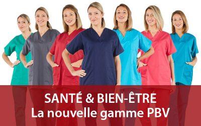 Les nouvelles tenues médicales PBV