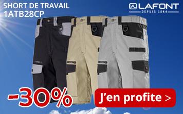 Profitez de -30% sur le short Lafont 1ATBCP