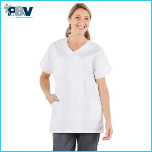 Tunique médicale blanche PBV TAM