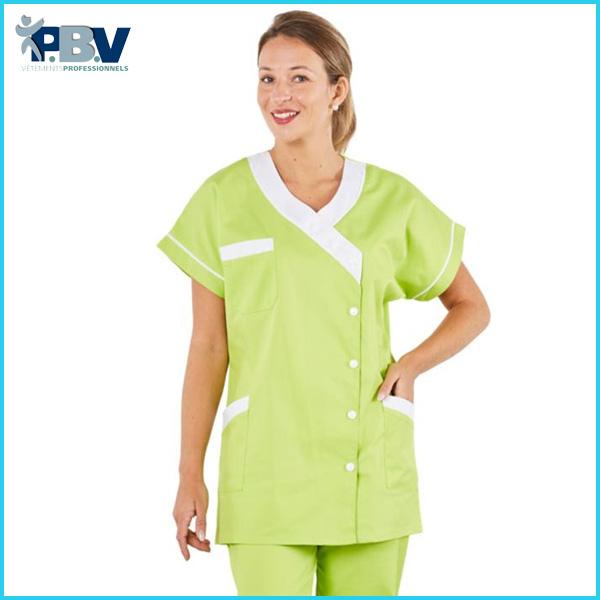 Tunique médicale pbv pour femme