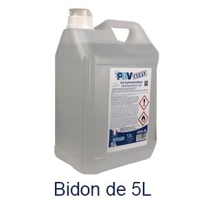 Bidon de gel hydro alcoolique 5L pbv