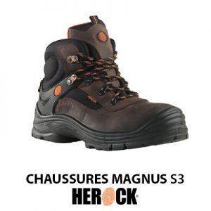 Chaussures de sécurité HEROCK MAGNUS S3