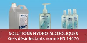 Gel hydro alcoolique pbv