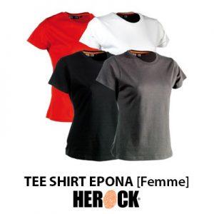 Tee shirt de travail femme Herock EPONA