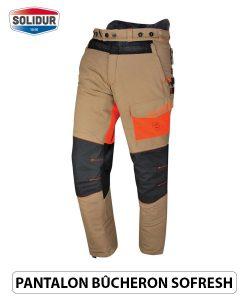 Pantalon anticoupure ete Solidur Sofresh