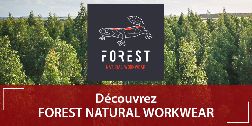 Forest Natural Workwear disponible sur Vetdepro.com