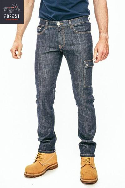 Jeans de travail coton bio DELTA Forest Natural Workwear