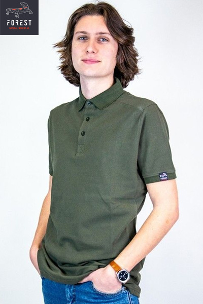 Polo Forest Workwear CLIPON coton bio