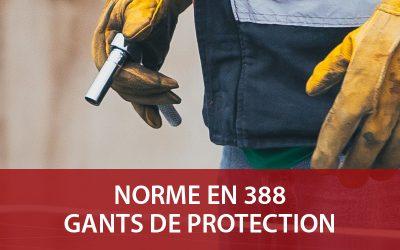 Norme EN 388 des gants de protection : on vous explique