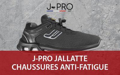 Chaussures Jallatte J-PRO347 : les nouvelles baskets de travail anti-fatigue