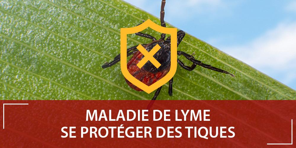 Se protéger de la maladie de Lyme